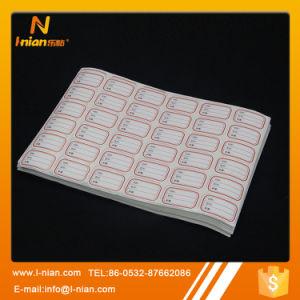 Custom Self Adhesive Writable Blank Paper Sicker pictures & photos