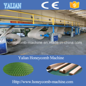 Full Automatic Standard Paper Honey Comb Core Cutting and Laminating Machine