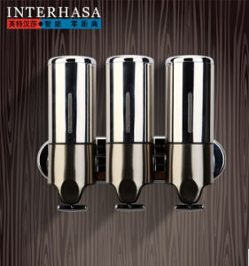 Bathroom Stainless Steel Shower Form Soap Dispenser pictures & photos