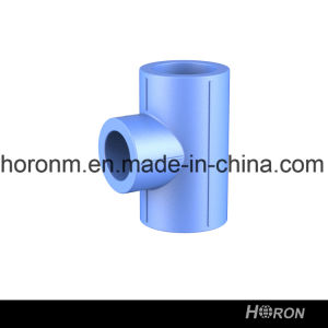 Water Pipe-PPR Fitting-PPR Tee-Blue PPR Tee-PPR Reducing Tee