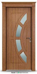 Single Leaf New Design Bedroom Doors pictures & photos