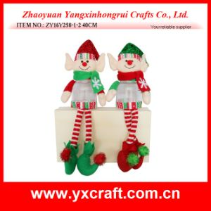 Christmas Decoration (ZY16Y258-1-2 40CM) Christmas Very Tall Products Christmas Decorative Santa Claus pictures & photos
