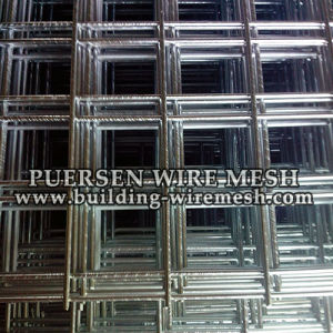 4mm Galvanized Welded Wire Mesh Panel (manufacturing) pictures & photos