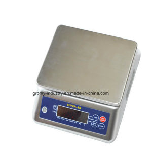 Digital Waterproof Stainless Steel Weighing Counting Scale with Ce Certificate pictures & photos