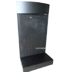 Chinese Supplier Metal Peg Board Display Stand Rack pictures & photos