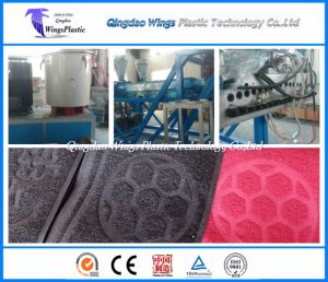PVC Loop Mat Making Machine / PVC Loop Carpet Production Line pictures & photos