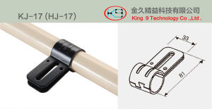 Metal Connector for Lean Pipe Rack (KJ-17) pictures & photos
