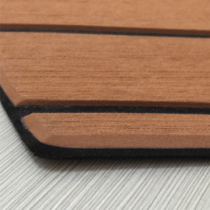 100% UV Marine EVA Teak Sheet for Boat Yacht Decking pictures & photos