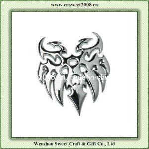 Tribal Chrome 3D Car Badge Emblem (JDB058) pictures & photos