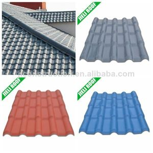 Guyana Residential Houseing Anti-UV PVC Roof Tile pictures & photos