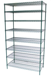 Metro Epoxy Coated Steel Wire Shelving for Grocery Storage pictures & photos