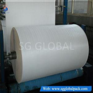 China Manufacturer Cheap 40-230GSM Polypropylene Woven Fabric pictures & photos