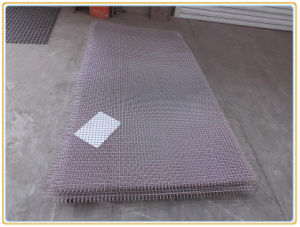 Black Steel Crimped Wire Mesh pictures & photos