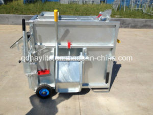 Hot Dipped Galvanised Mobile Calf Box pictures & photos