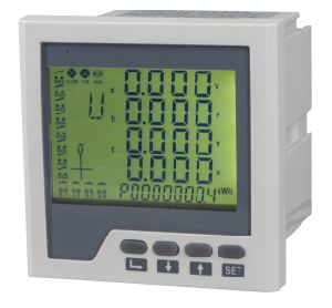 Digital Panel Meter Mulitifunction Harmanic Meter with Blue LCD pictures & photos