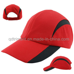 Comfortable Breathable Polyester Mesh Fabric Racing Sport Cap (TMR0674) pictures & photos