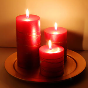 Wholesale Scented Pillar Candles for Church pictures & photos