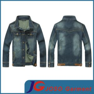 Denim T Shirt for Men Wholesaler (JC7023) pictures & photos