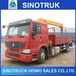 Sinotruk Cargo Truck 336HP 10ton 12ton 10 Wheeler HOWO Crane Truck pictures & photos