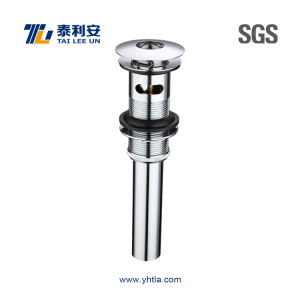 Chrome Plated Brass Pop up Sink Waste Bathroom Fittings (T021-A) pictures & photos