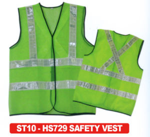 100% Polyester Reflective Vest Hs729 pictures & photos