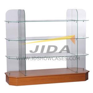 Modern Glass Display Rack for Shop