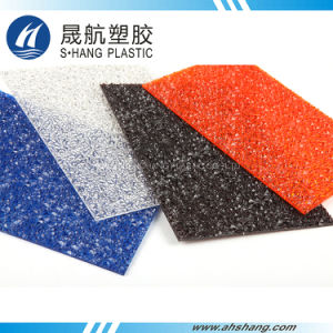 Quality Diamond Polycarbonate Embossed Sheet with High Impact pictures & photos