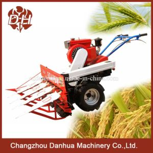 Walk Type Rice and Wheat Combine Harvester