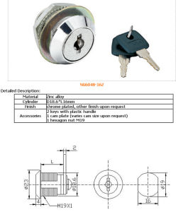18X16mmcam Lock, Mailbox Lock, Furniture Lock Al-18-16 pictures & photos