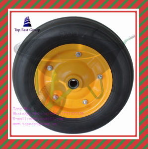 Super Quality PU Foam Wheel with Size 300-7, 300-8, 400-8 pictures & photos