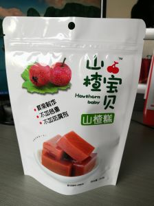 Stand up Zipper Pouch with Clear Window Snack Food Packaging pictures & photos