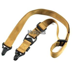 Two Point Ms3 Multi Mission Tactical Rifle Airsoft Sling System Adjustable Tan