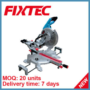 Fixtec 1800W Cutting Tool 255mm Sliding Compound Miter Saw (FMS25502) pictures & photos