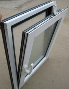 UPVC Tilt & Turn Window (WX-W301) pictures & photos