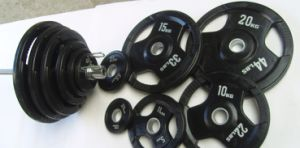 Olympic Rubble Weight Plate Dumbellwith SGS (usnv82451) pictures & photos
