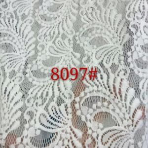 Hot Sale White Lace Fabric (with oeko-tex standard 100 certification) pictures & photos