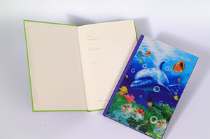 Lenticular Printing Custom Spiral A5 Notebook pictures & photos