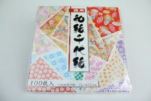 100s Japanese Washi Origami Folding Paper pictures & photos