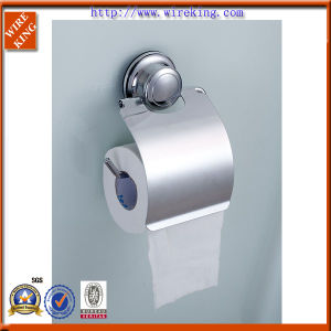 Aluminium Suction Toilet Paper Roll Holder (WKA30003)