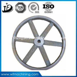 OEM and Customized Cast Iron Belt Pulley for Construction Machinery pictures & photos