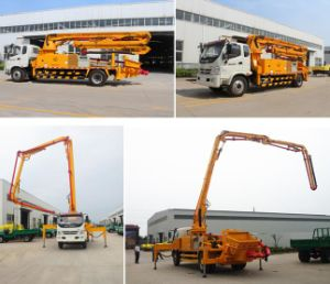 32m 37m 48m Boom Concrete Pump Truck with HOWO&Isuzu Brand Chassis pictures & photos
