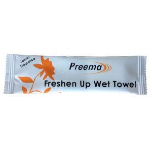 Lemon Fragrance Freshen up Wet Towels with 10X100PCS pictures & photos
