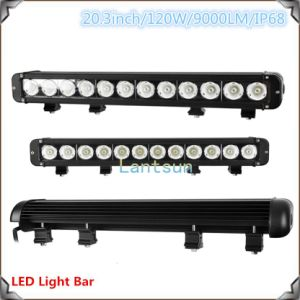 LED Light Bar 8-120W 1row IP 68 Waterproof pictures & photos