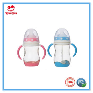8 Ounce Colorful PPSU Milk Feeding Bottles for Babies pictures & photos