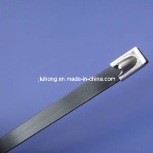 Jhcp-4.6 X 460mm Stainless Steel Metal Insert Tie Wraps pictures & photos