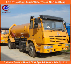 Heavy Duty Factory Direct Sell 4*2 Shacman Sewage Suction Truck pictures & photos