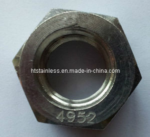 DIN934 Nimonic 80A Hex Nut pictures & photos