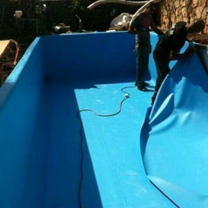 High Quality Anti-UV Blue Swimming Pool/ Pond Liner PVC Sheet (ISO) pictures & photos