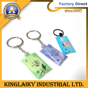 Soft Eco-Friendly PVC Keychain with Customized Logo (KL-3) pictures & photos
