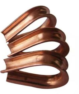Copper Euro Thimbles for Wire Loop pictures & photos
